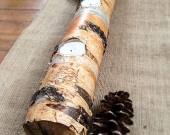 Birch Tree Candle Holder - Table Center Piece - Candle Holder