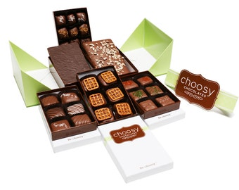 The Choosy Chocolates Origami Gift Set