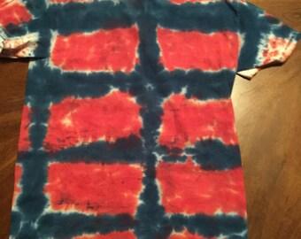 Boxy Tie Dye T Shirt