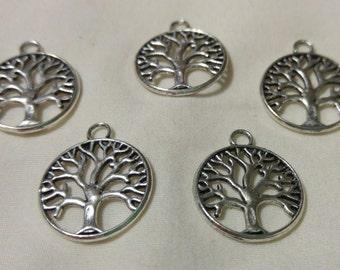 Tree Bangle Charms