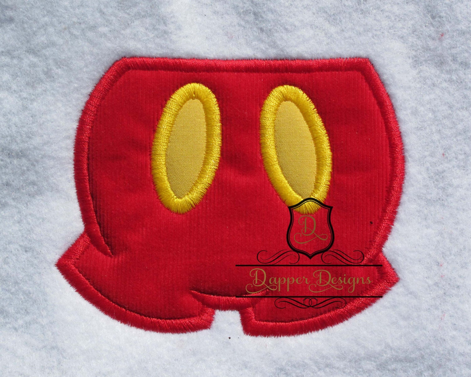 Mouse pants machine embroidery applique design use coupon code