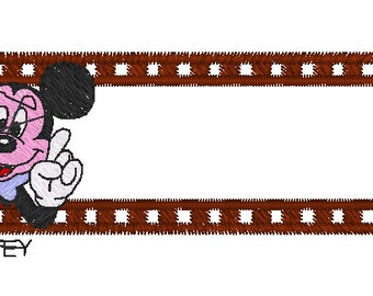 Mickey  Mouse Embroidery Design  Instant Download