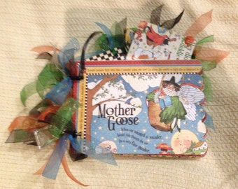 Mother Goose Scrapbook