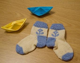 Hand Knit socks for a Little Dreamer