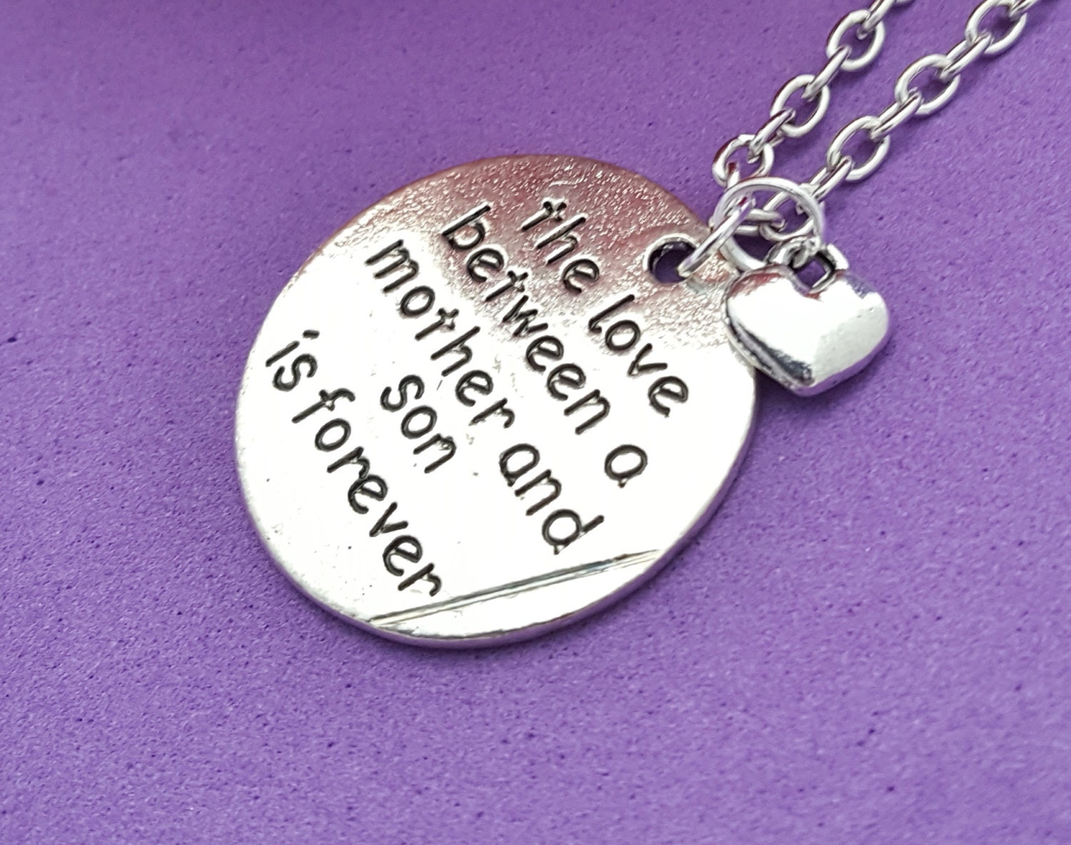 Mother Son Jewelry, Gifts for Mom Mother from Son, Mother\'s Charm ...