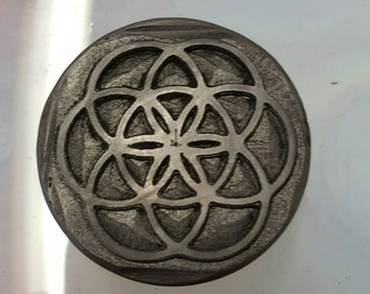 Graphite Stamp: Seed of Life