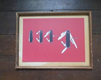 Swiss Army Knife Print