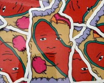 Fruit Pie Bobby Sticker