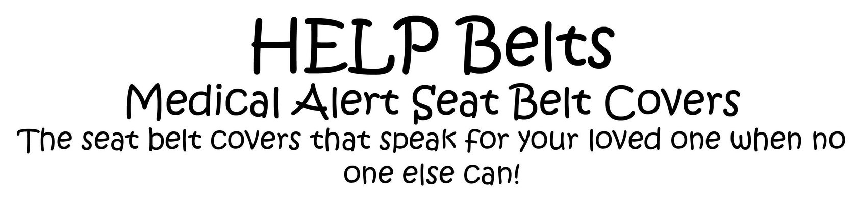Help Belts Medical Alert Seat Belt Covers By Helpbelts On