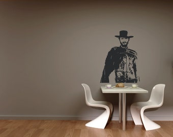 The Good - (The Bad and the Ugly ) Wall decal Clint Eastwood
