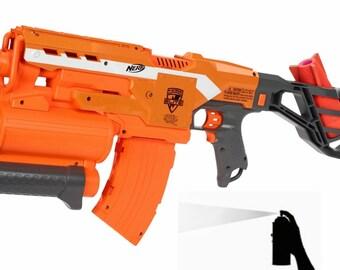 Custom Painted Nerf Demolisher