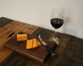 Cutting Board / Cheese Board / Black Walnut