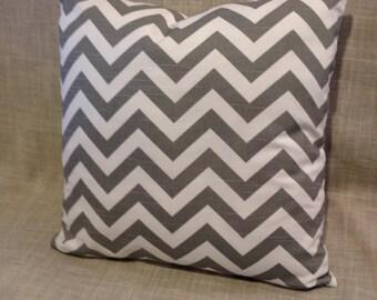 Chevron Print Throw Cushion Cover