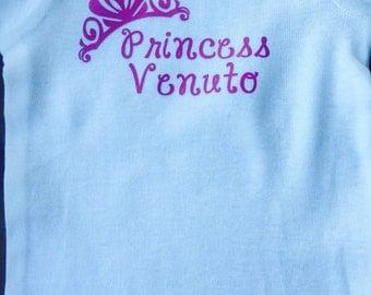 Personalized Princess Onesie