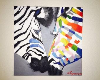 Happy Zebras