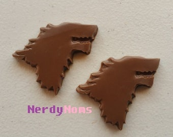 Chocolate Stark Logo, Winter is Coming