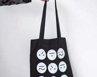 Black Frown Bag