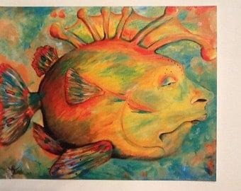 PRINT- Wilbert The Fish