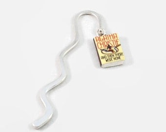 And Then There Were None (Agatha Christie) mini book bookmark