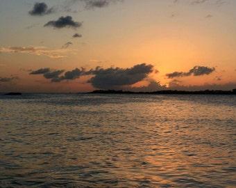 Sunset Photo, St Maartin Photo