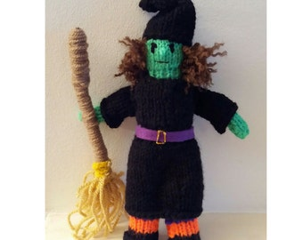 Free Knitting Pattern Witch Doll : Christmas witch doll Etsy
