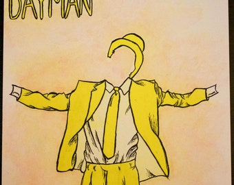 "6""x6"" Always Sunny Dayman and Nightman Prints"