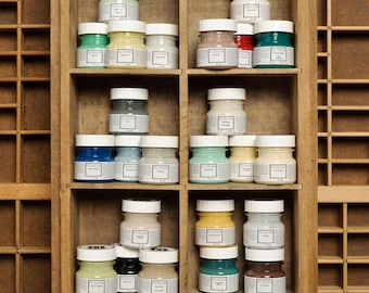 Fusion Mineral Paint, No VOC and Eco Friendly Furniture Paint - Foundation to Finish All in One - 31 Colors- Sample