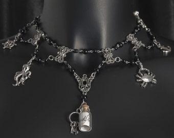 "Pirate necklace ""shipwreck"""