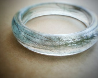 Real Feather Bangle