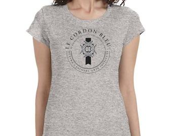 Le Cordon Bleu cooking school ladies t-shirt