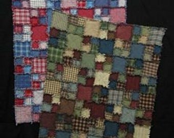 Rag Time Quilt Pattern - by Quilt Country