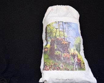 Apple orchard medium bag