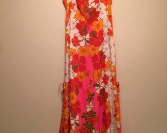 Vintage Hawaiian dress