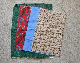 Adorable Cowboy Fabric Kit