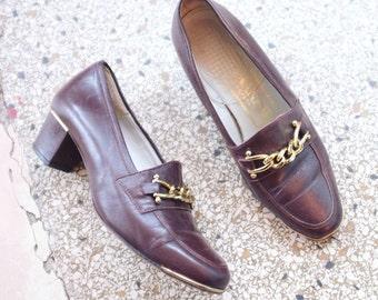 Vintage gucci style pumps heels size 36