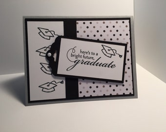 Stampin Up handmade Graduation Card