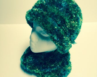 Boa Hat and Cowl