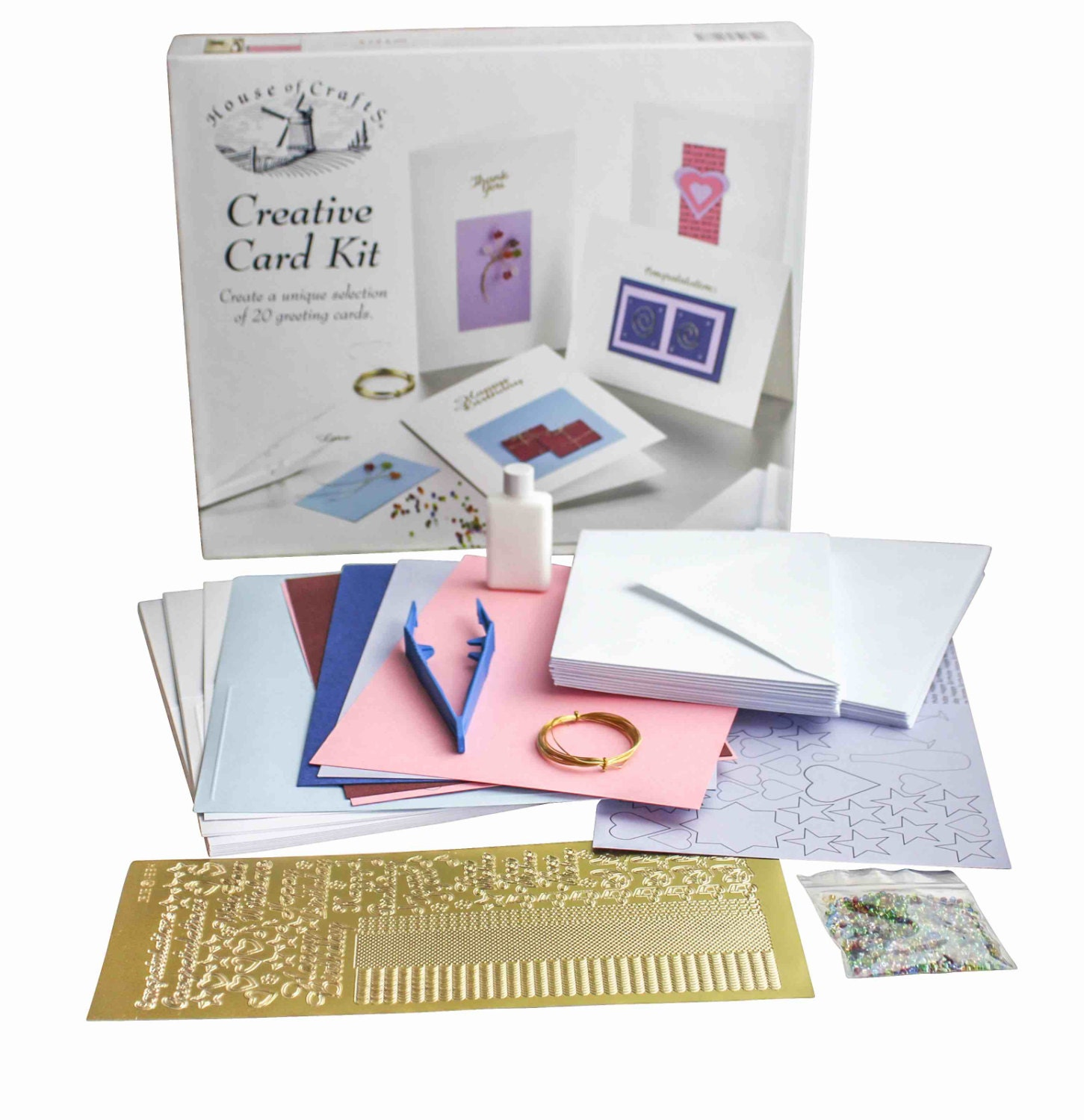 House of crafts creative card making kit