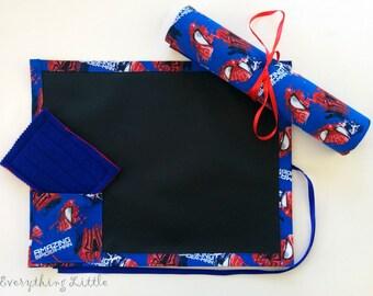 Spider-Man Chalkboard Mat