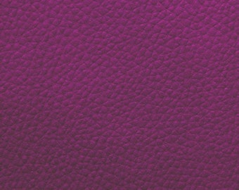 Sold by the meter leather imitation leatherette Aubergine width 140 cm