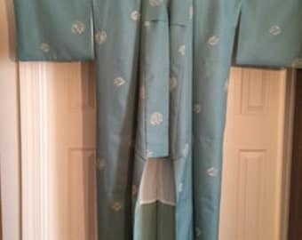 RED TAG SALE, New Japanese Kimono, Synthetic