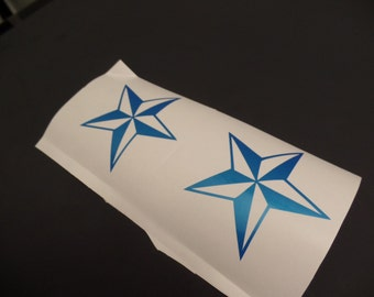 Four-Texas Star decal sticker