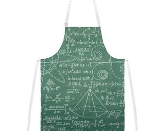 Math Geek Formula Chalkboard Apron