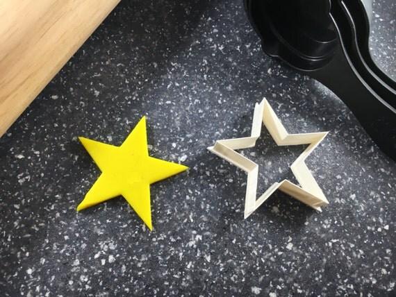 Star Shape Outline Cookie Fondant Cutter