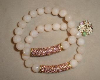 Ivory Beaded Bracelet