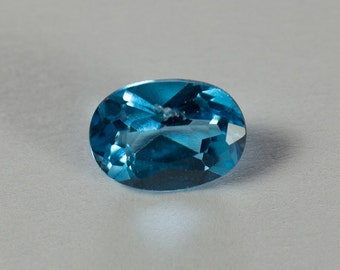 Natural Sky Blue Topaz, Oval Mixed Cut, 0.89ct