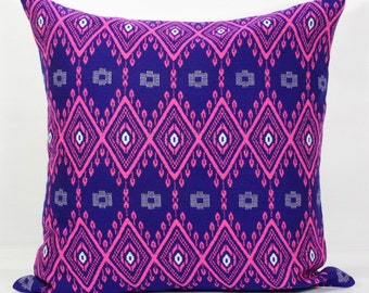 Purple pillow cover 26x26 pillow covers 24 x 24 inch pillow covers 22 x 22 throw pillows pink purple throw pillow covers 20x20 inch pillow