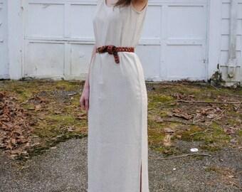 SALE! Vintage 90s Chico's Shift Dress Sleeveless Casual Summer Dress Medium