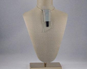 Modern Glass Necklace