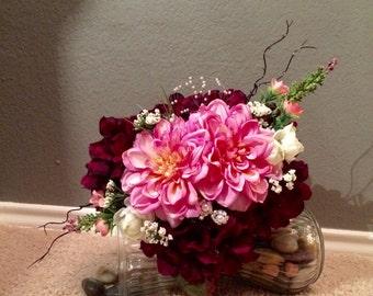 Pre-Made Silk Wedding Bouquet